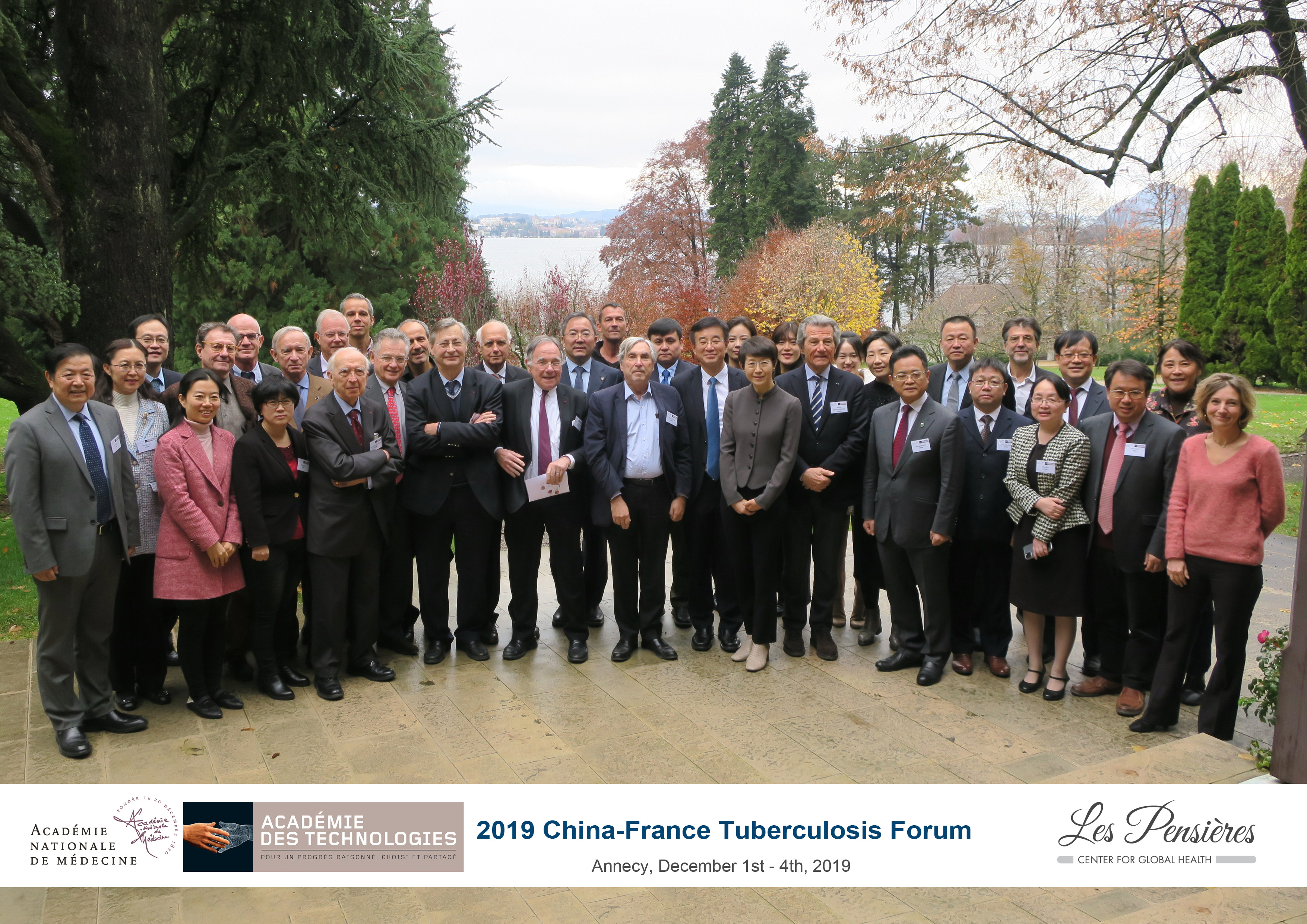 Symposium sur la tuberculose aux Pensières, 2019